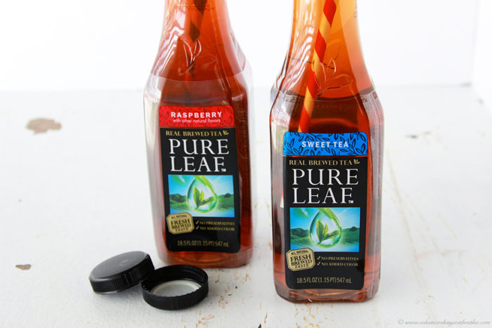Lipton Pure Leaf Iced Tea on www.whatscookingwithruthie.com