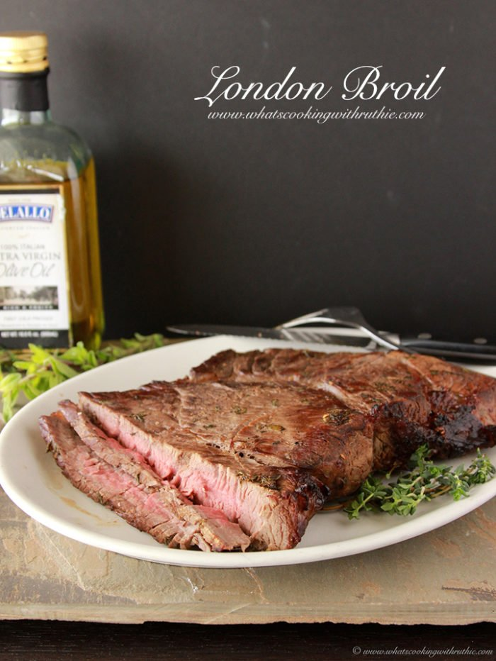 London Broil by www.whatscookingwithruthie.com
