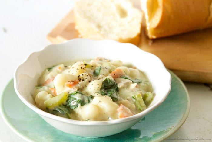 Olive Garden Chicken Gnocchi Soup {copycat} - Beneath My Heart