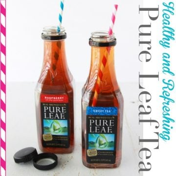 What makes a good day (pure leaf tea) by www.whatscookingwithruthie.com