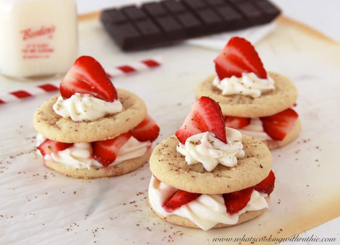 These Strawberry Shortcake Cookies are just about the best things in ...