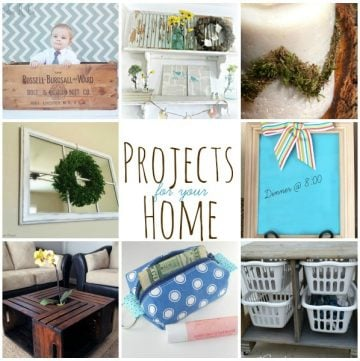 Projects for your Home and Super Saturday #41 on www.whatscookingwithruthie.com