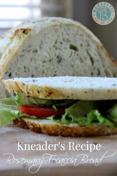 Kneaders Recipe Rosemary Focaccia Bread by www.bakerette.com on www ...