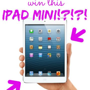 Win an iPad Mini on www.whatscookingwithruthie.com