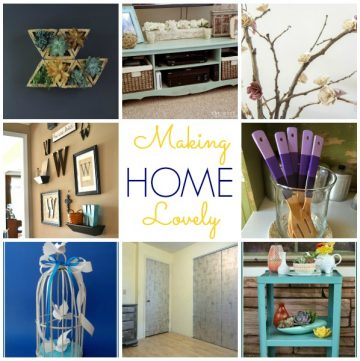 Making Home Lovely on www.whatscookingwithruthie.com