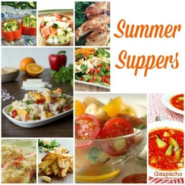 Summer Supper Round-up on www.whatscookingwithruthie.com