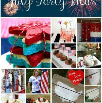July Party Ideas on www.whatscookingwithruthie.com
