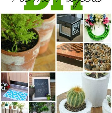 DIY Home Projects by www.whatscookingwithruthie.com