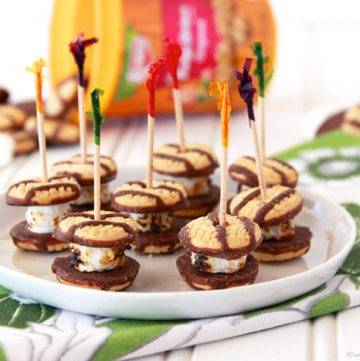 Mini S'more Treats by www.whatscookingwithruthie.com
