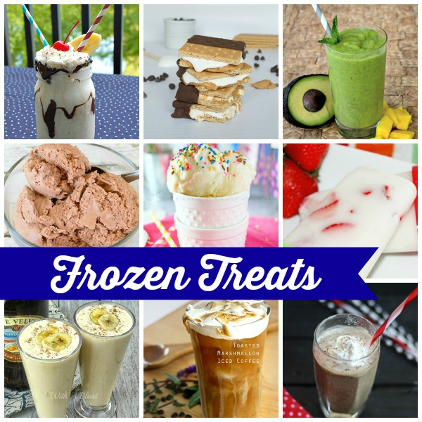 Frozen Treats Round-up on www.whatscookingwithruthie.com