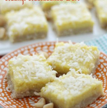 Mango Macademia Bars by www.whatscookingwithruthie.com