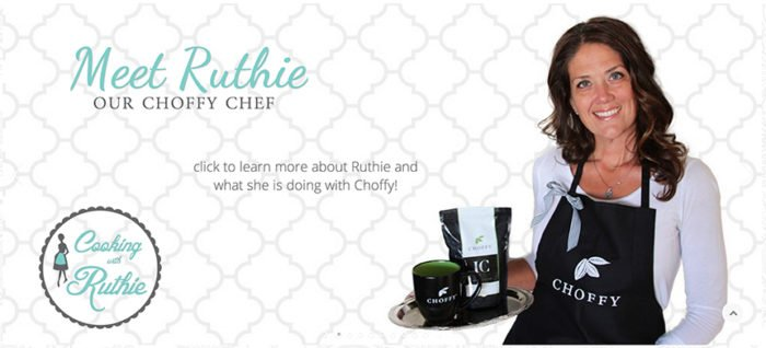 Ruthie announced as Choffy Chef