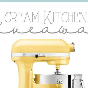 Ice Cream Kitchenaid Giveaway on www.cookingwithruthie.com