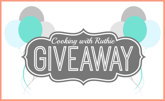 Everyone's a Winner Birthday Giveaway on www.cookingwithruthie.com
