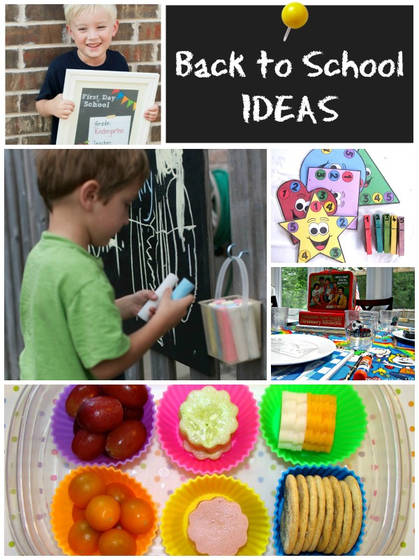 Back to School Ideas on www.cookingwithruthie.com