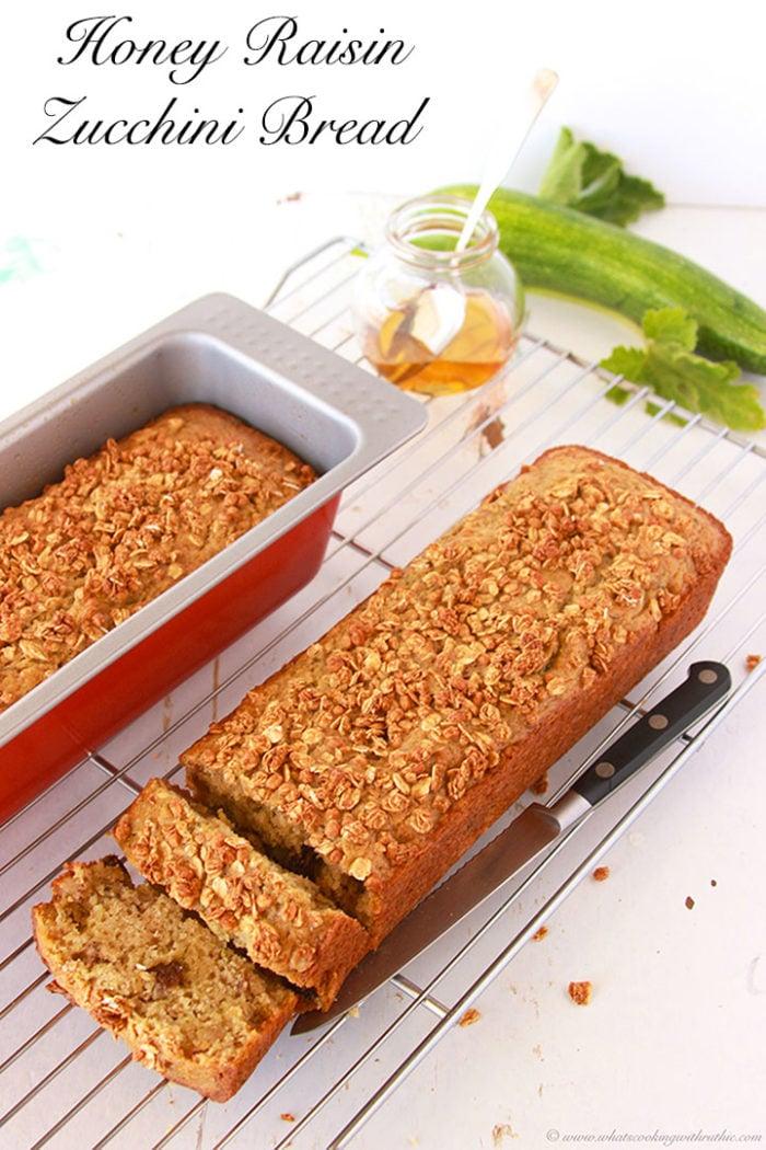 Honey Raisin Zucchini Bread and Ikea Event** (2)