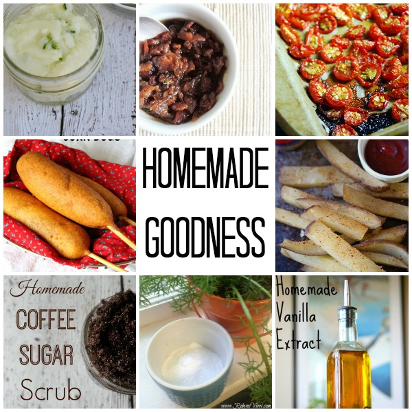 Homemade Goodness on www.cookingwithruthie.com