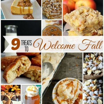 9 Treats to Welcome Fall on www.cookingwithruthie.com