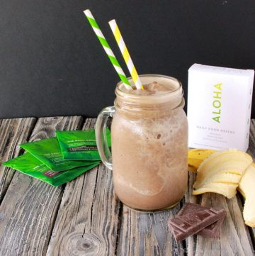Aloha Smoothie and Bikram Yoga on www.cookingwithruthie.com