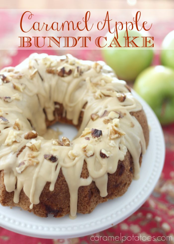 Caramel Apple Bundt Cake Recipe