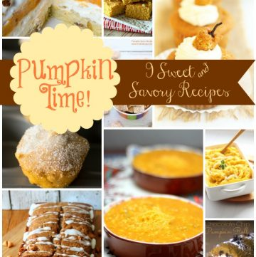 Pumpkin Recipes on www.cookingwithruthie.com