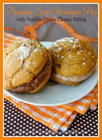 Pumpkin Spice Whoopie Pies1