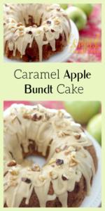Caramel Apple Bundt Cake Pin 1