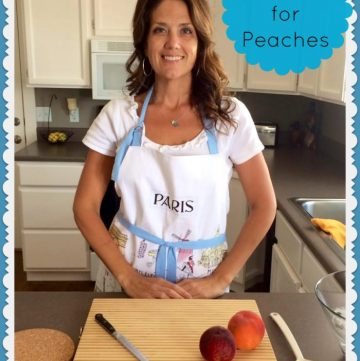 Quick Tips for Peaches on www.cookingwithruthie.com