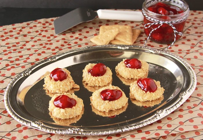 Cherry Cheesecake Cookies by www.whatscookingwithruthie.com