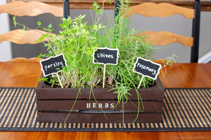 Indoor Herb Trough Part - 40: Indoor Herb Planter On Www.cookingwithruthie.com