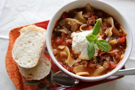 Lasagna Soup - 1
