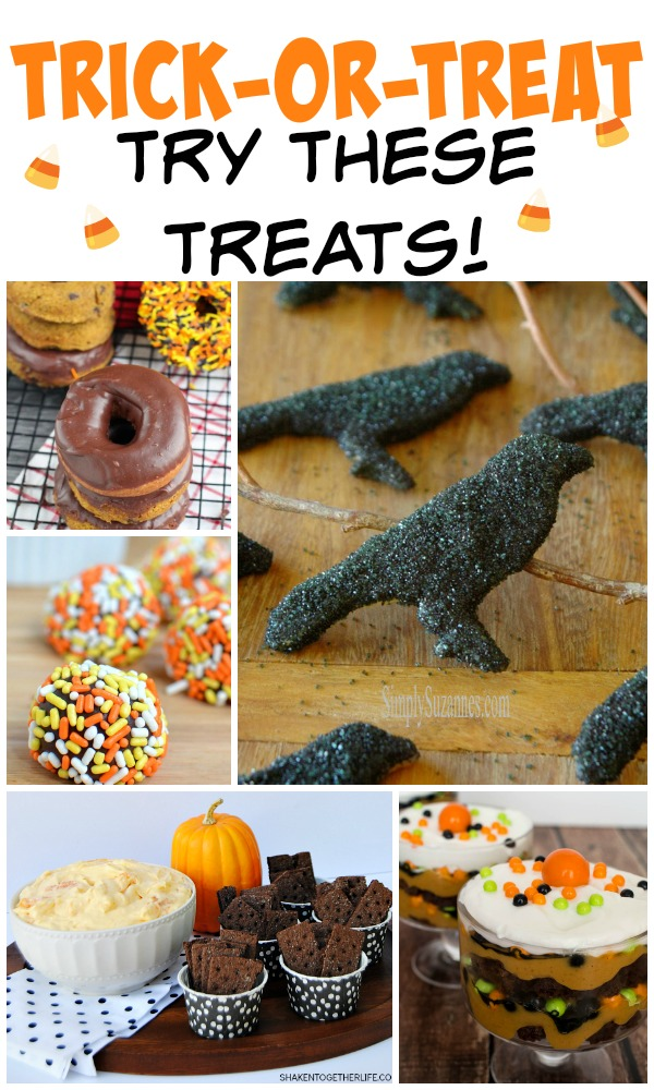 Trick-or-Treat, Treats! on www.cookingwithruthie.com