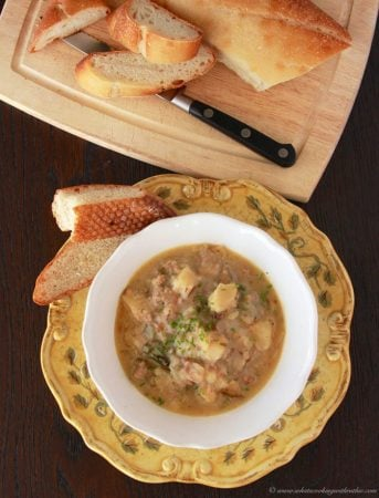 Zuppa Tuscana Soup by www.cookingwithruthie.com