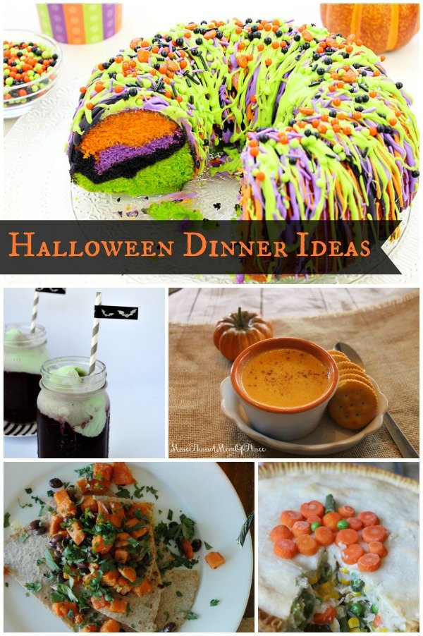 Halloween Dinner Ideas on www.cookingwithruthie.com