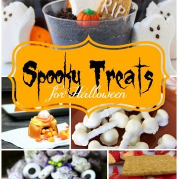 Spooky Treats for Halloween on www.cookingwithruthie.com