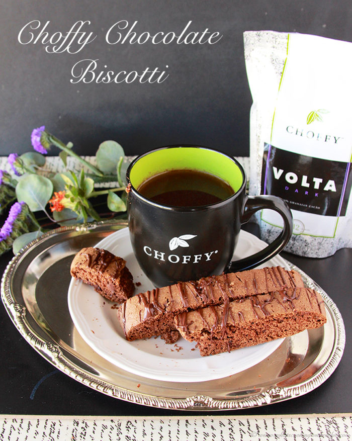 Choffy Chocolate Biscotti is the perfect addition to your breakfast beverage! #recipes #choffy #biscotti