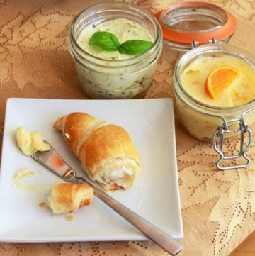 Compound Butters are just what your holiday table is needing! by www.cookingwithruthie.com #recipe #holidays