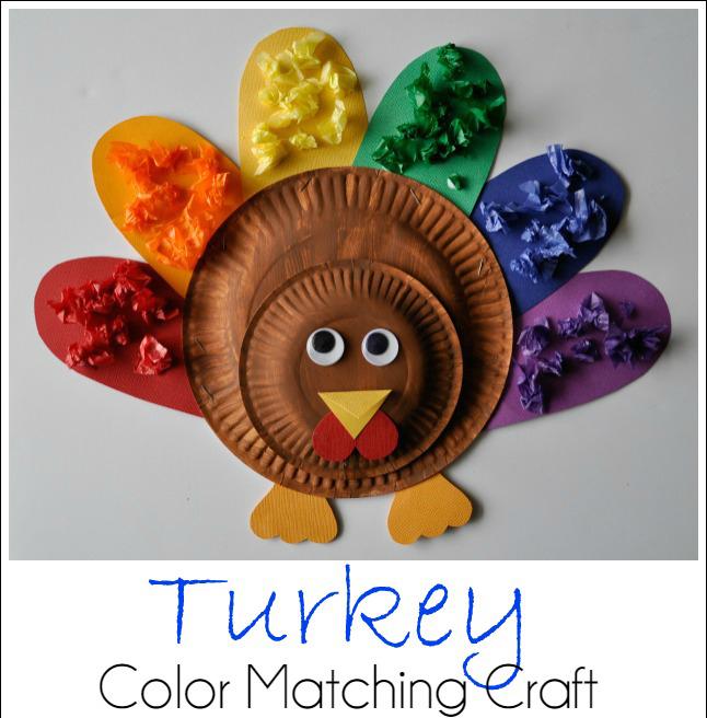 Preschool Turkey Crafts With Feathers