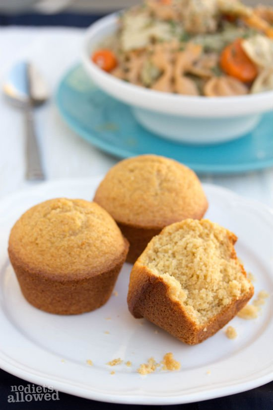 Honey Cornbread Muffins are a simple addition to any soup this winter ...