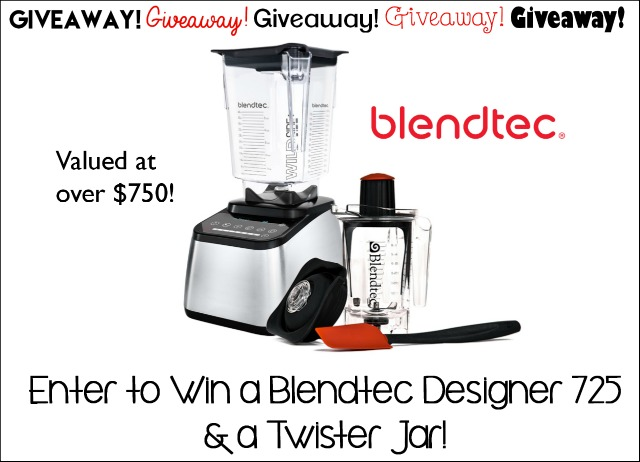 Blend Tec Giveaway plus two delicious recipes!  on www.cookingwithruthie.com