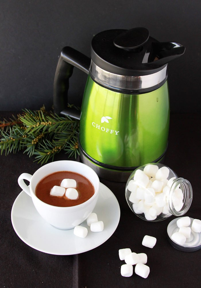 "Decadent ""Hot Chocolate"" Choffy is the perfect way to to stay comfy cozy this winter! by www.cookingwithruthie.com"