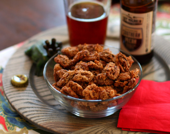 Bourbon Spiced Pecans