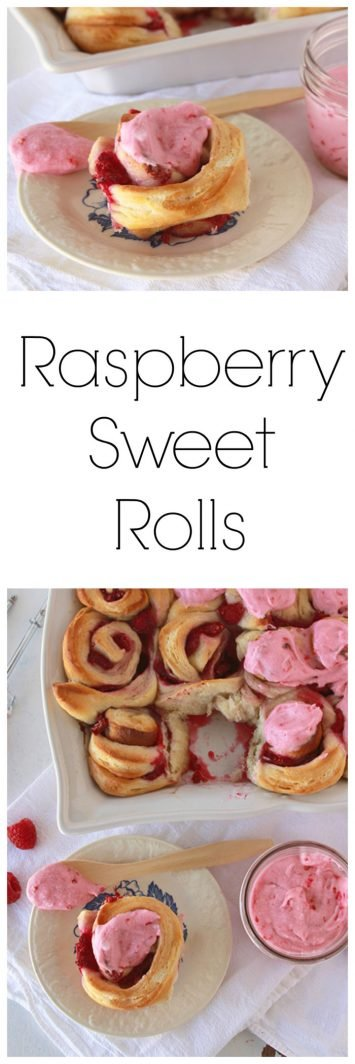 Raspberry Sweet Rolls are flat out AHhh-mazing! on www.cookingwithruthie.com