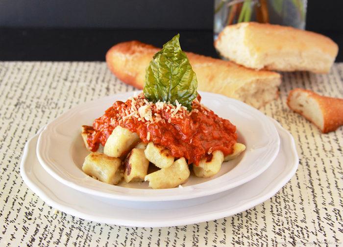 gnocchi with marinara gnocchi with marinara 1cup marinara sauce ...