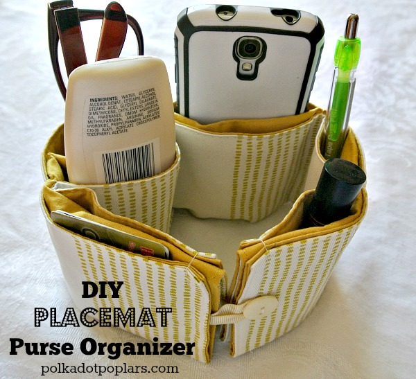 Here are a few lovely goodies to stash all kinds of gadgets and necessary items inside your purse or totes, some pretty clever ideas and easy to make too!