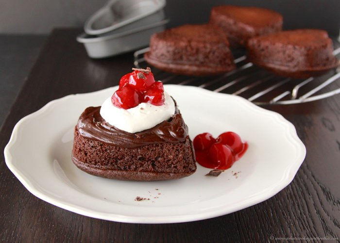 Black Forest Sweetheart Cakes On Www Cookingwithruthie Com Taste As Amazing They Look