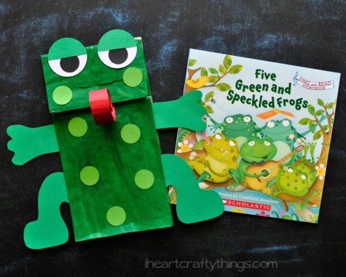 Frog Crafts And Templates