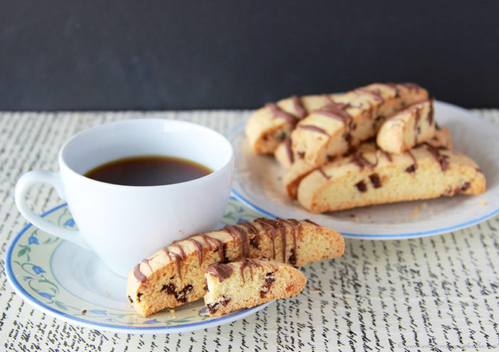 Chocolate Chip Biscotti by www.cookingwithruthie.com is a delicious ...
