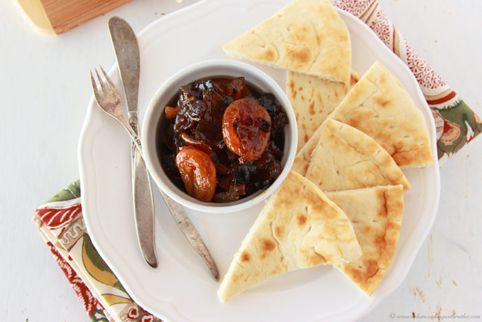 Apricot Mango Chutney by www.cookingwithruthie.com is a delicious appetizer!