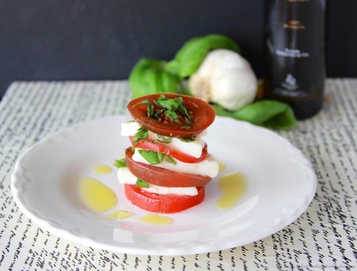 Quick Jack Com >> Stacked Caprese Salad - Cooking With Ruthie